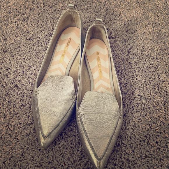 Nicholas Kirkwood Shoes   Silver   Poshmark